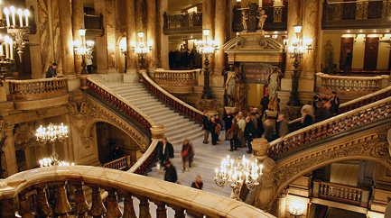 Guided visit of the Paris Opera