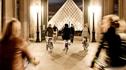 Guided bicyle tour of Paris